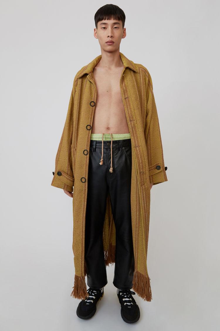 Acne Studios - Leather pants Black - 1