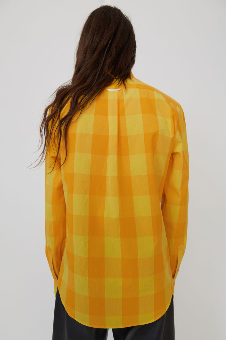 Acne Studios - Isherwood Rustic Ch Yellow/orange - 3