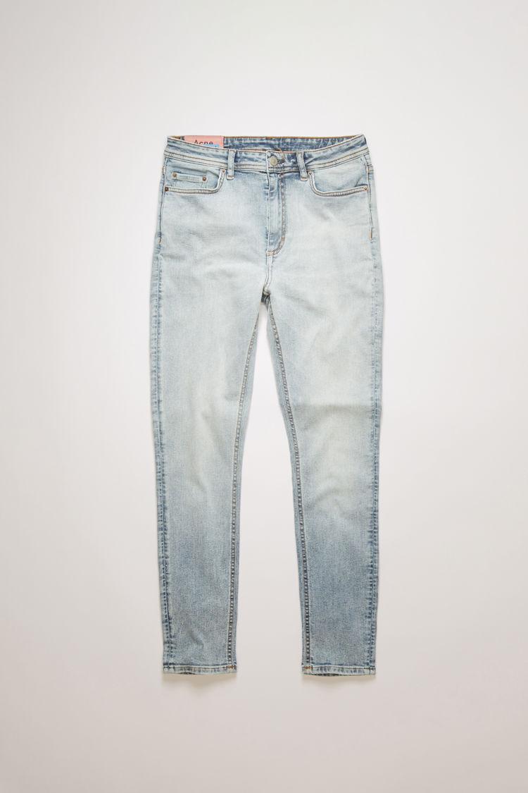 아크네 스튜디오 Acne Studios Skinny fit jeans indigo blue