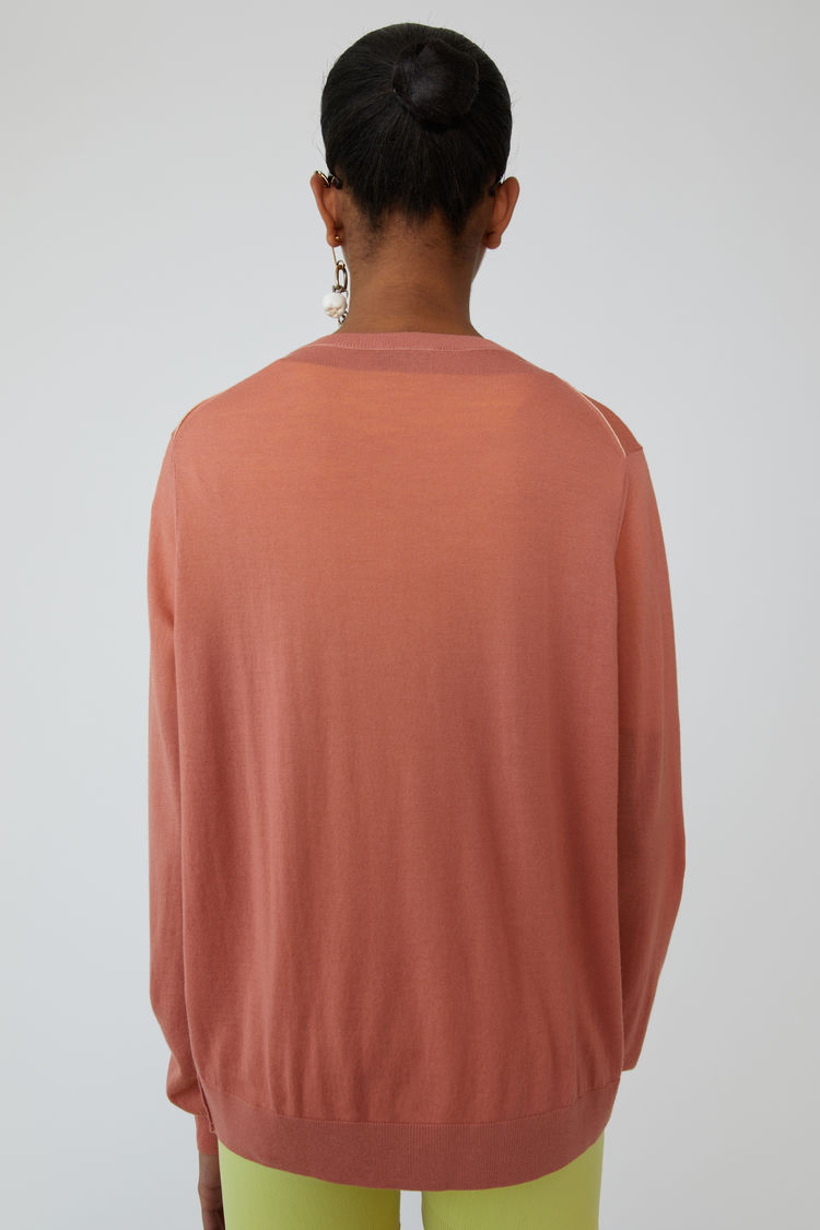 Acne Studios - Lightweight sweater Dusty pink - 3