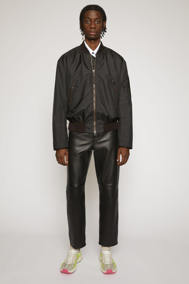 아크네 스튜디오 Acne Studios Nylon bomber jacket black