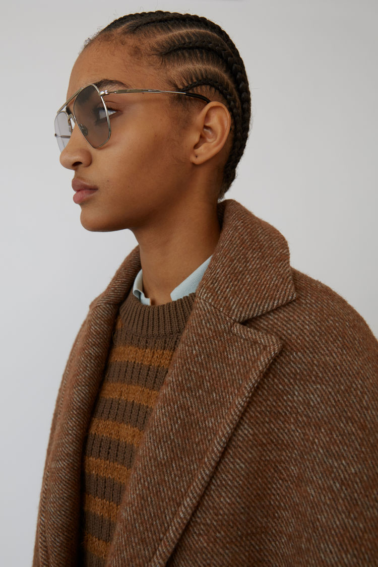 Acne Studios - Cocoon jacket Camel brown - 7