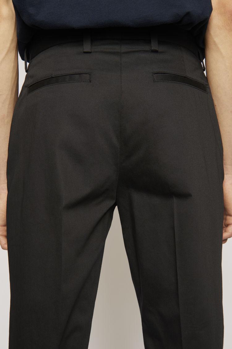 Acne Studios - Clean trousers Black - 5