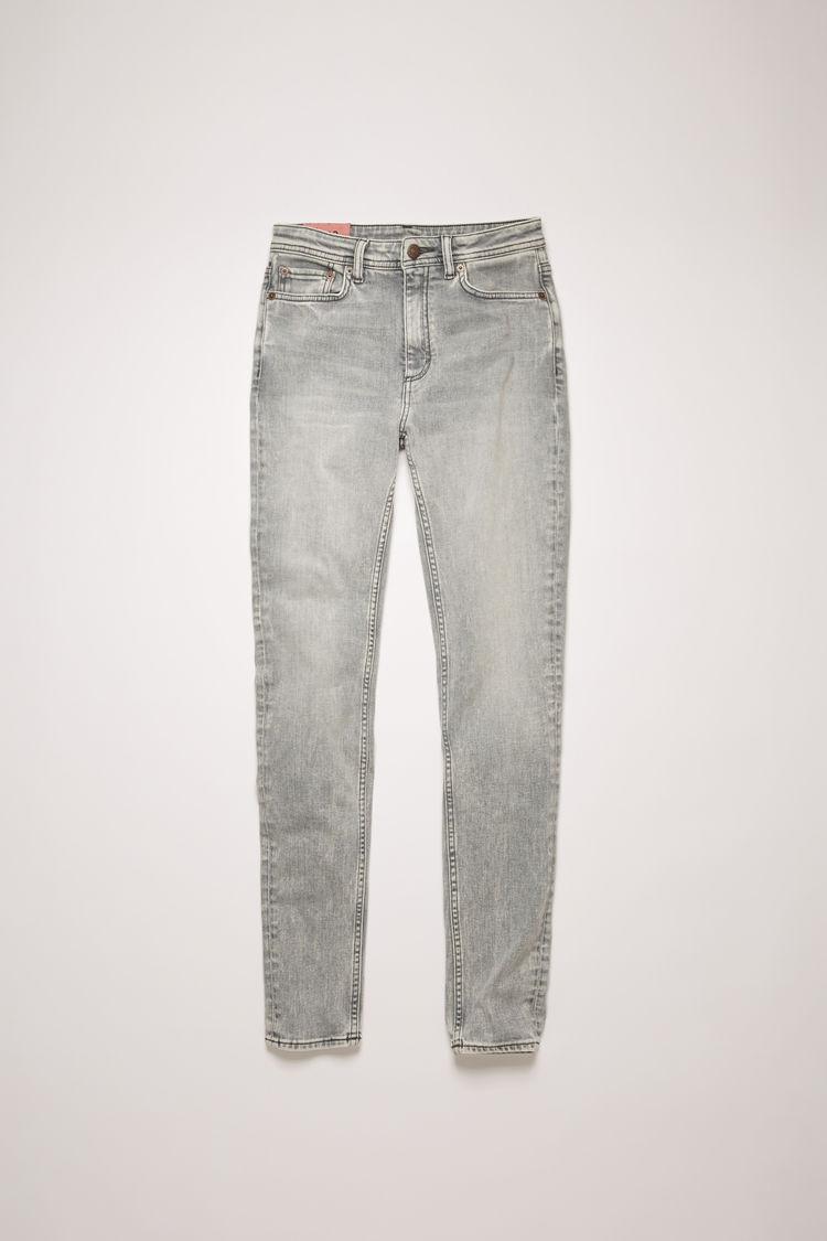 아크네 스튜디오 Acne Studios High-rise skinny jeans stone grey
