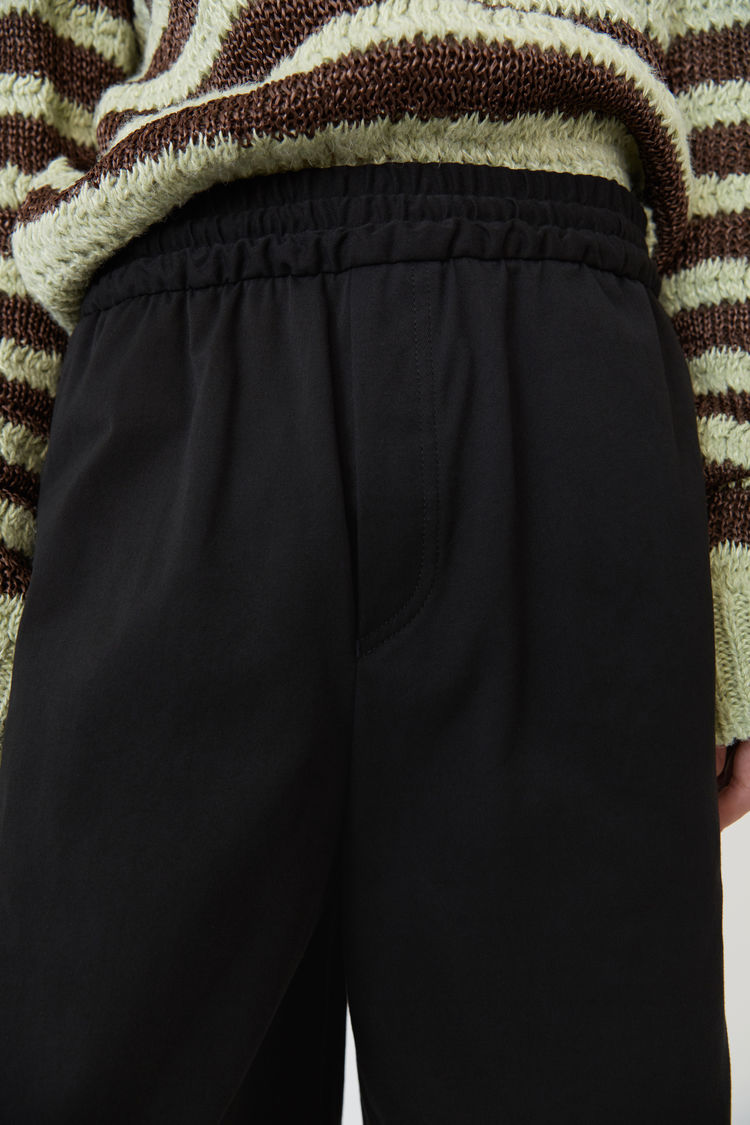 Acne Studios - Drawstring shorts Black - 2