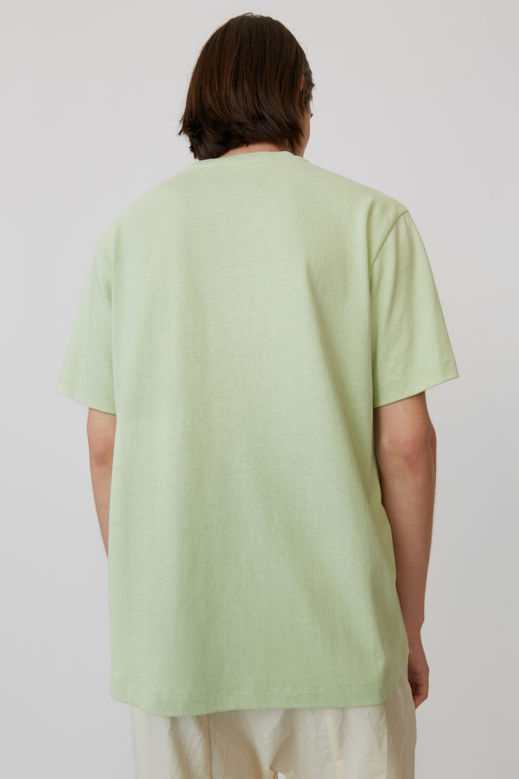Acne Studios - Printed t-shirt Pale green - 3