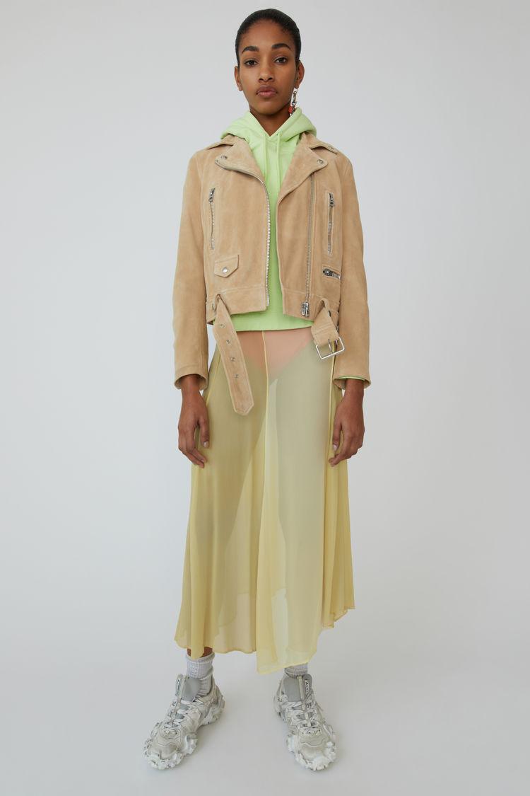 아크네 스튜디오 모터사이클 자켓 Acne Studios Motorcycle jacket warm beige