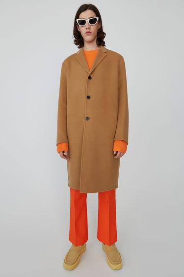 아크네 스튜디오 Acne Studios Oversized coat camel brown