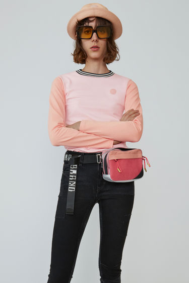아크네 스튜디오 Acne Studios Long-sleeved t-shirt blossom pink