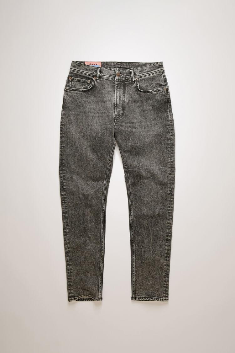 아크네 스튜디오 Acne Studios Slim tapered fit jeans washed black