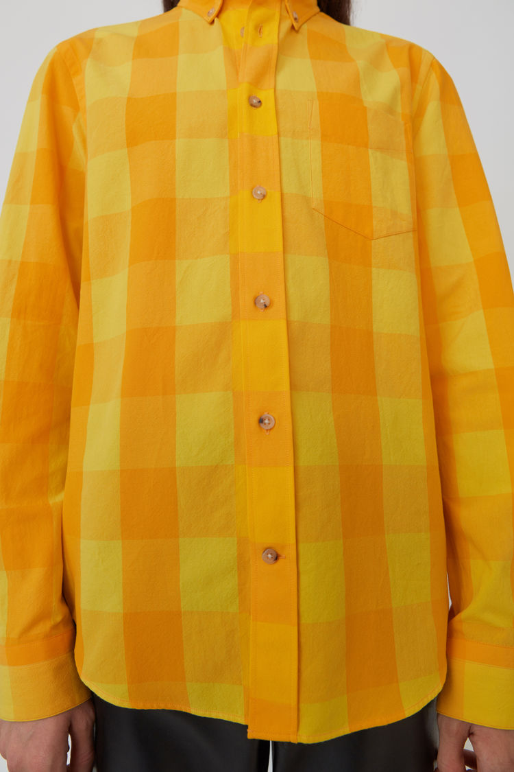Acne Studios - Isherwood Rustic Ch Yellow/orange - 5