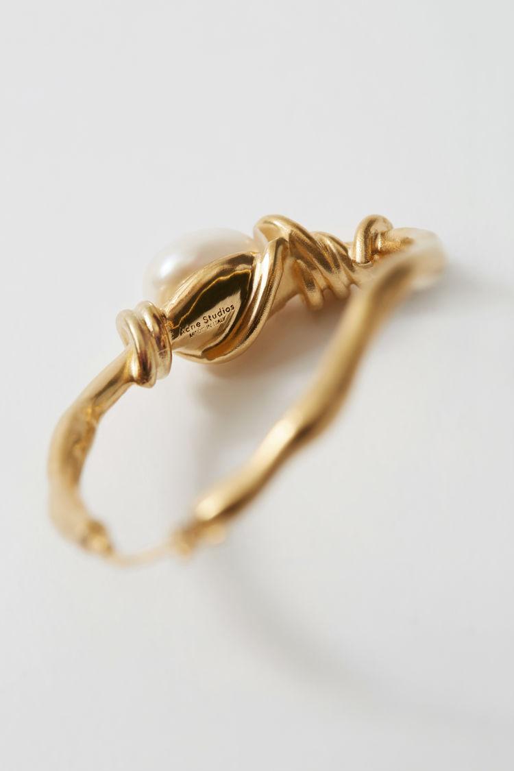 Acne Studios - Handmade earring Gold - 3