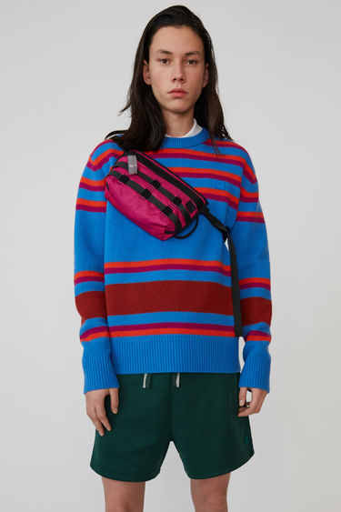 아크네 스튜디오 Acne Studios Knit sweater blue multicolor