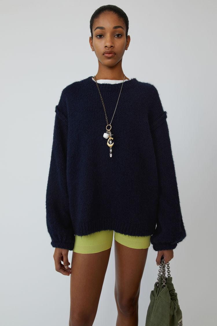 Acne Studios - Oversized sweater Navy blue - 1