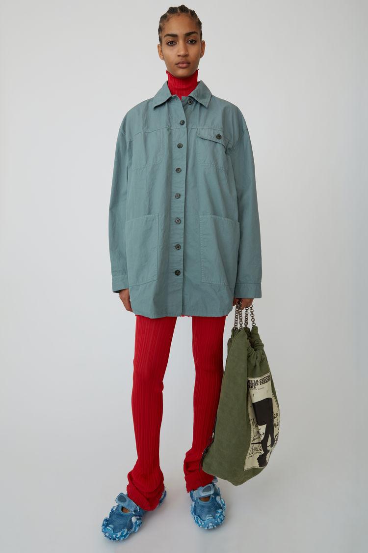 아크네 스튜디오 셔츠형 자켓  Acne Studios Masculine shirt dusty green