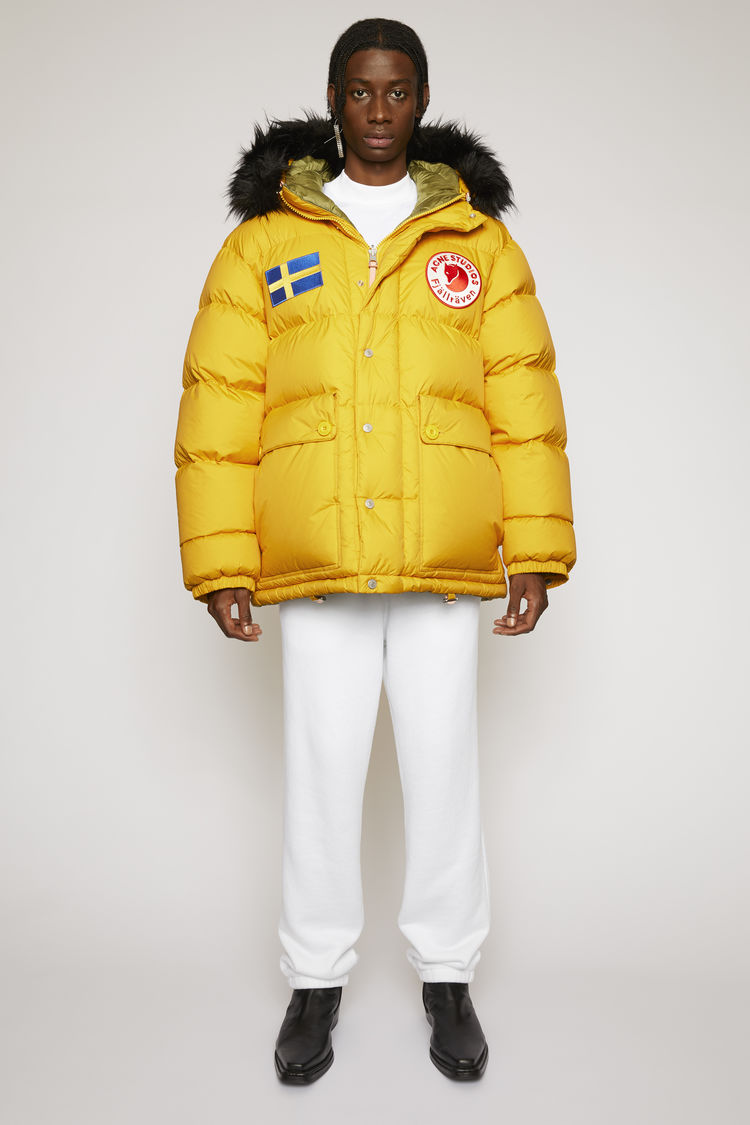 아크네 스튜디오 Acne Studios Reversible down jacket sunflower yellow,Sunflower yellow