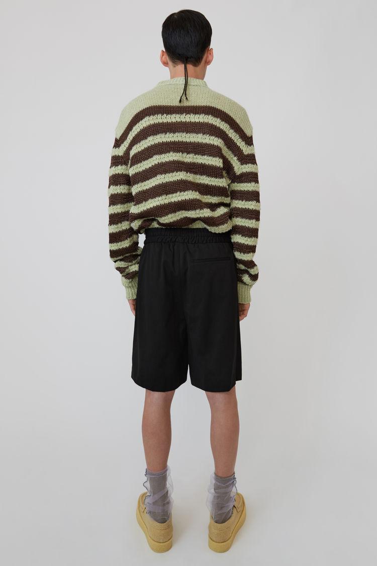 Acne Studios - Drawstring shorts Black - 3