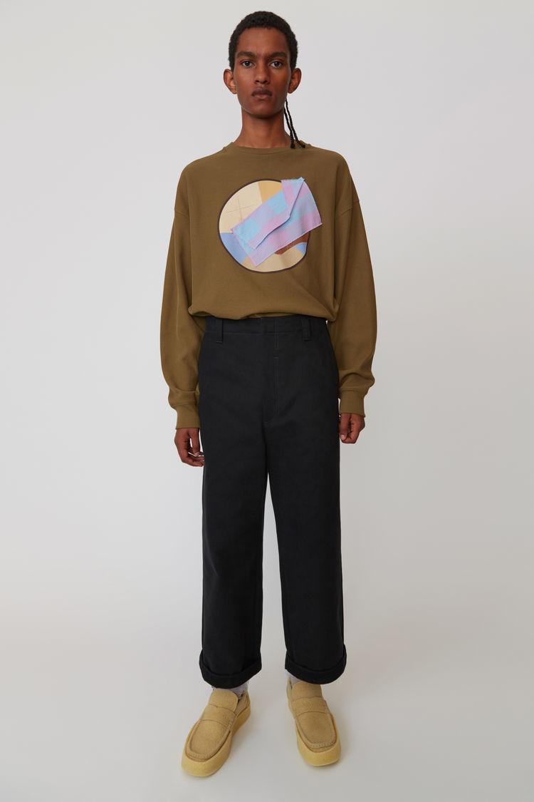 Acne Studios - Cotton trousers Black - 1