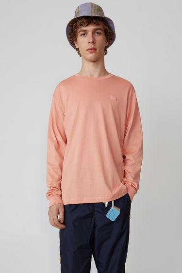 아크네 스튜디오 Acne Studios Long sleeve crew neck pale pink