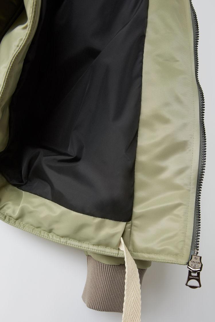 Acne Studios - Bomber jacket Stone grey - 6