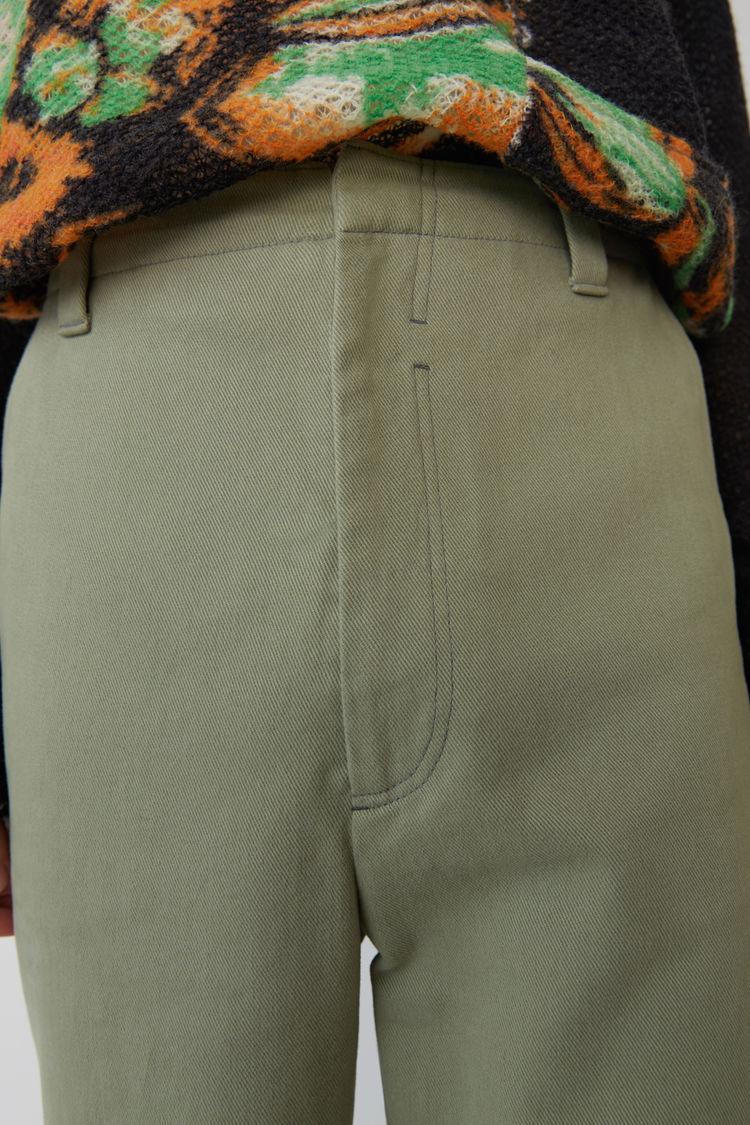 Acne Studios - Cotton trousers Stone grey - 2