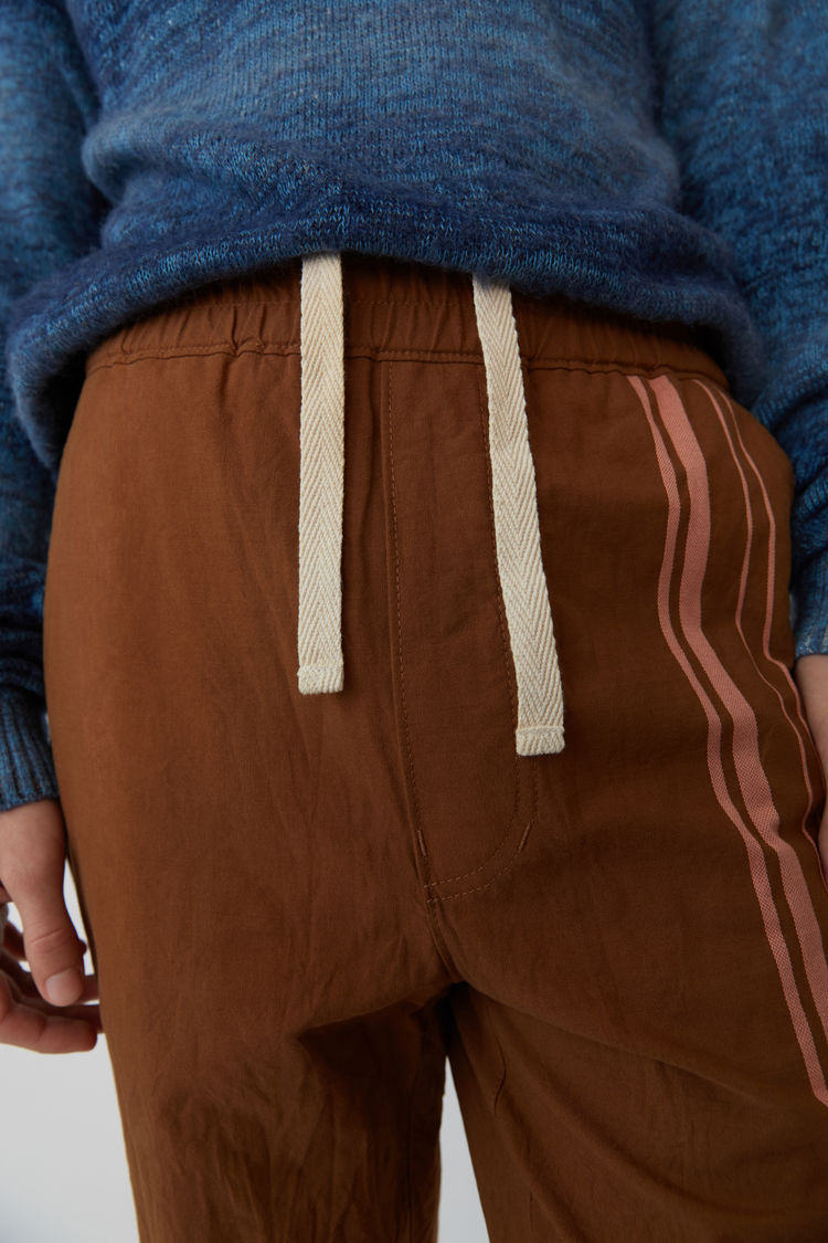 Acne Studios - Sporty trousers Brown/Ginger Orange - 2