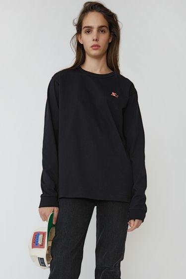 아크네 스튜디오 Acne Studios Long sleeve t-shirt black