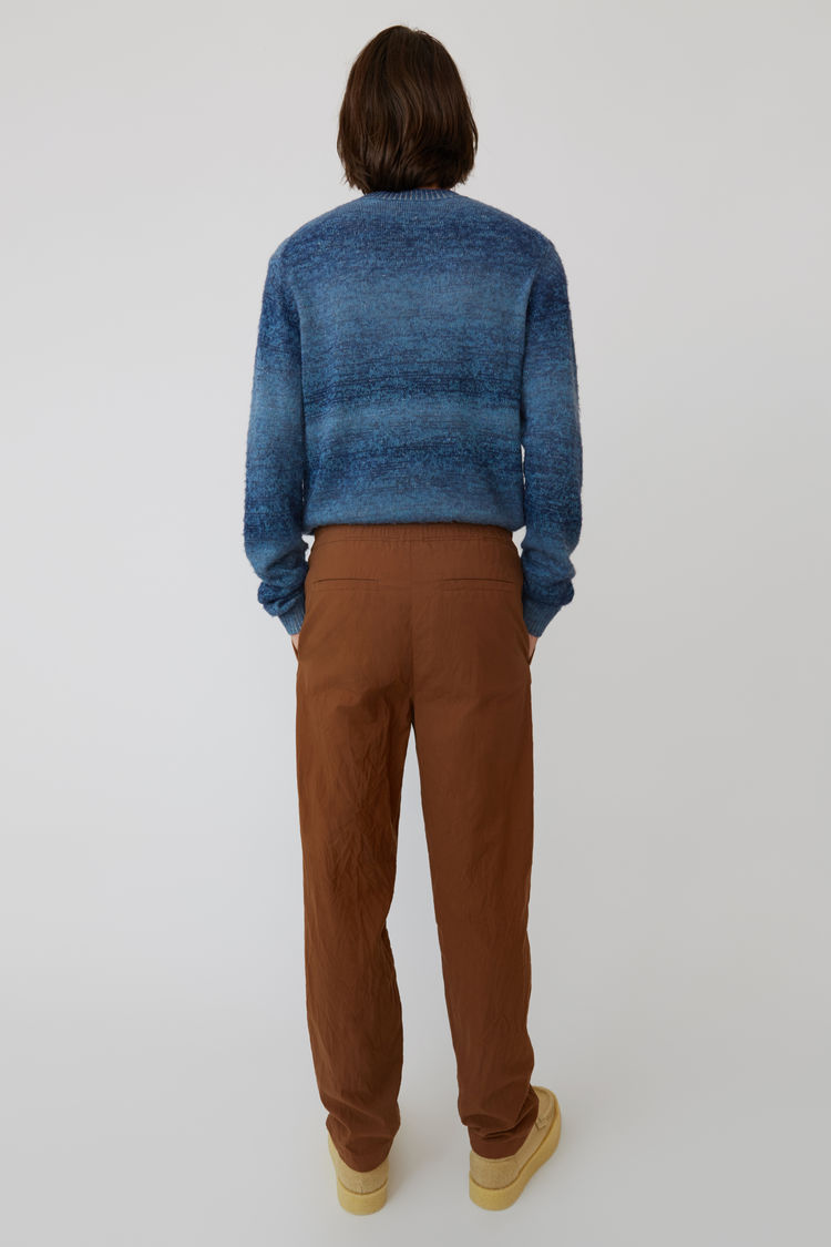 Acne Studios - Sporty trousers Brown/Ginger Orange - 3