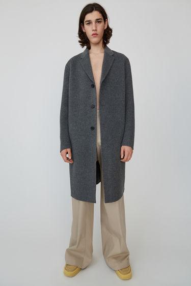 아크네 스튜디오 Acne Studios Oversized coat medium grey melange