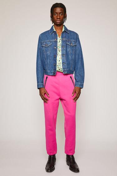 아크네 스튜디오 Acne Studios Slim fit denim jacket dark blue