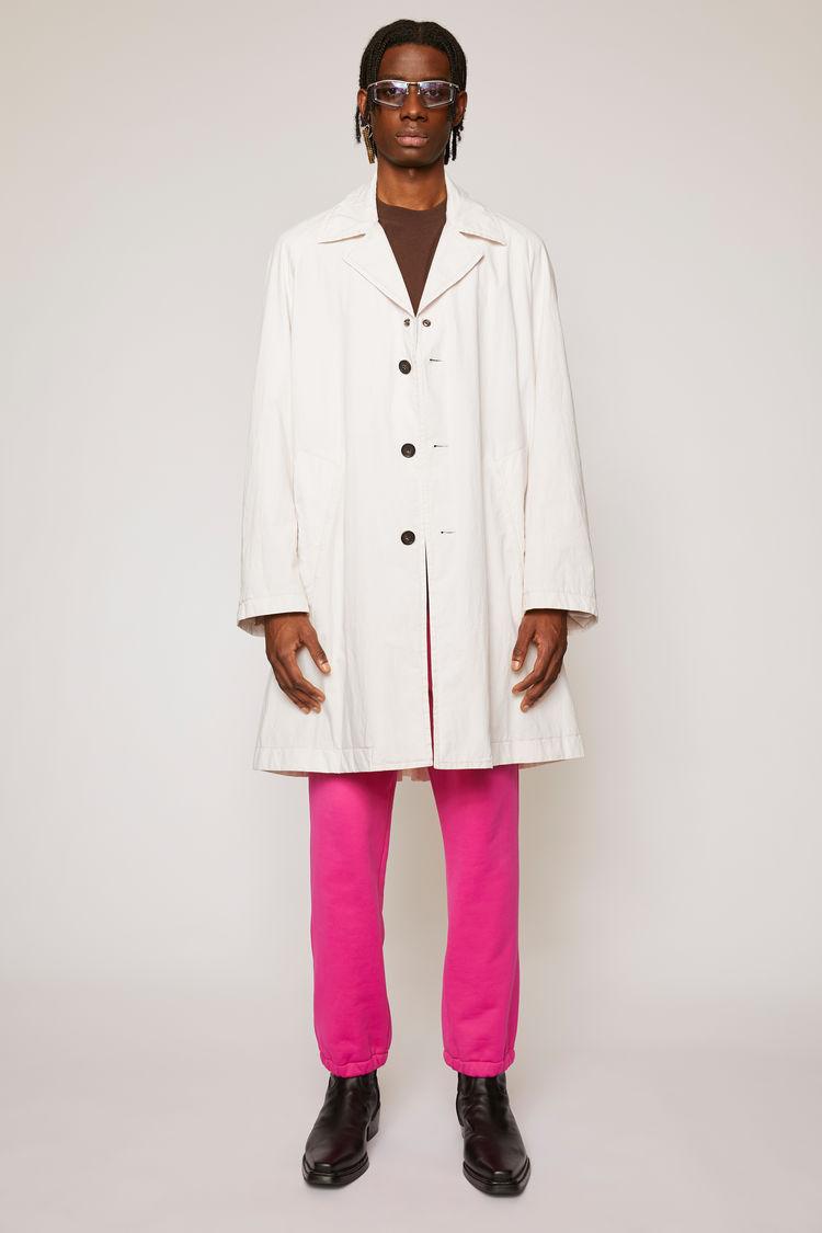 아크네 스튜디오 Acne Studios Oversized trench coat warm white