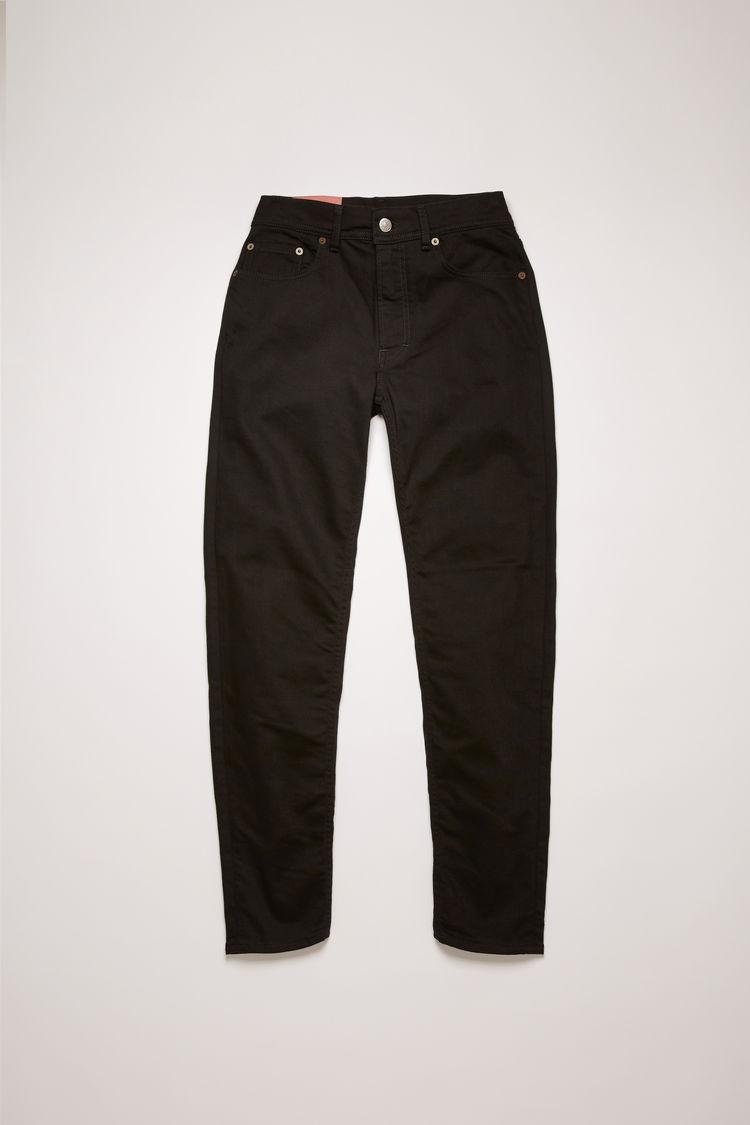 아크네 스튜디오 Acne Studios Slim tapered fit jeans black
