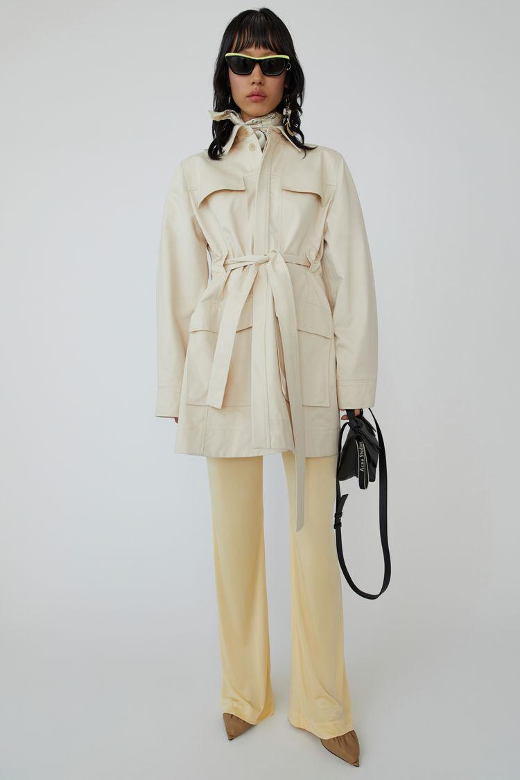 아크네 스튜디오 사파리 자켓 Acne Studios Safari jacket ivory white