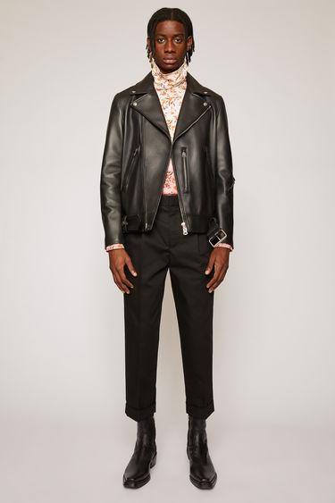 아크네 스튜디오 Acne Studios Pleated trousers black