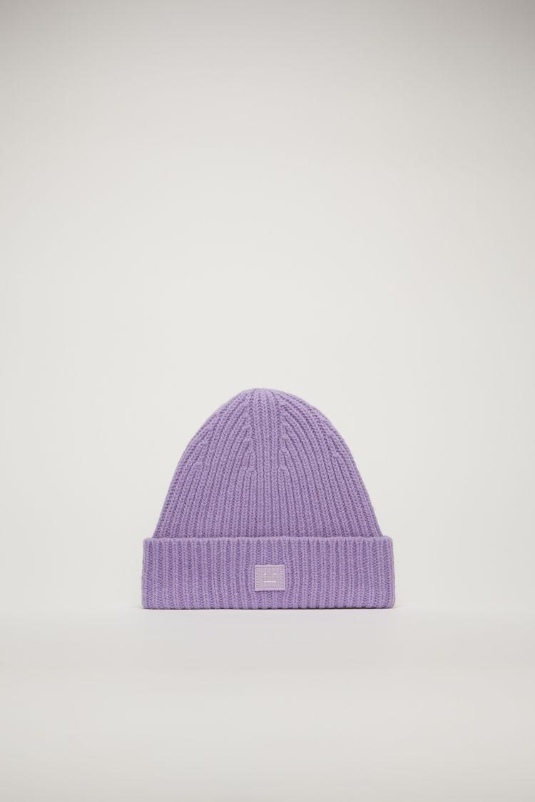 아크네 스튜디오 아동 비니 N 페이스 Acne Studios Children's beanie lavender purple