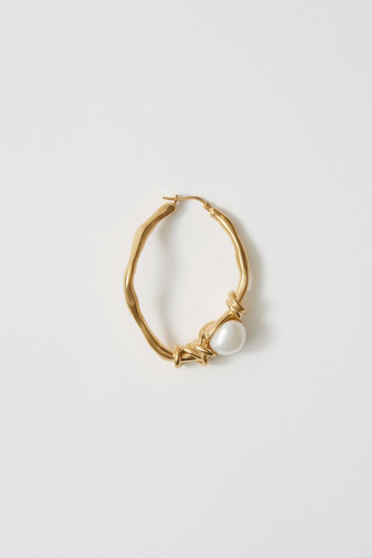 Acne Studios - Handmade earring Gold - 1