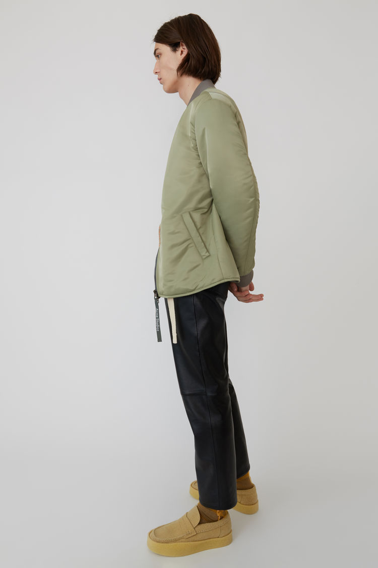 Acne Studios - Bomber jacket Stone grey - 4
