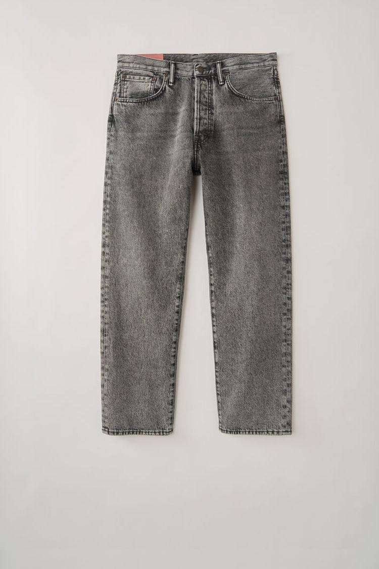 아크네 스튜디오 Acne Studios Loose fit jeans washed black