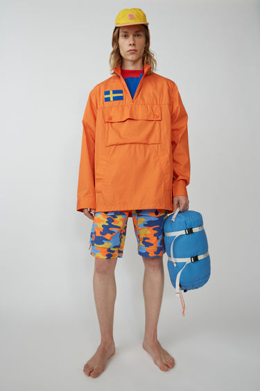 아크네 스튜디오 Acne Studios Anorak jacket sharp orange