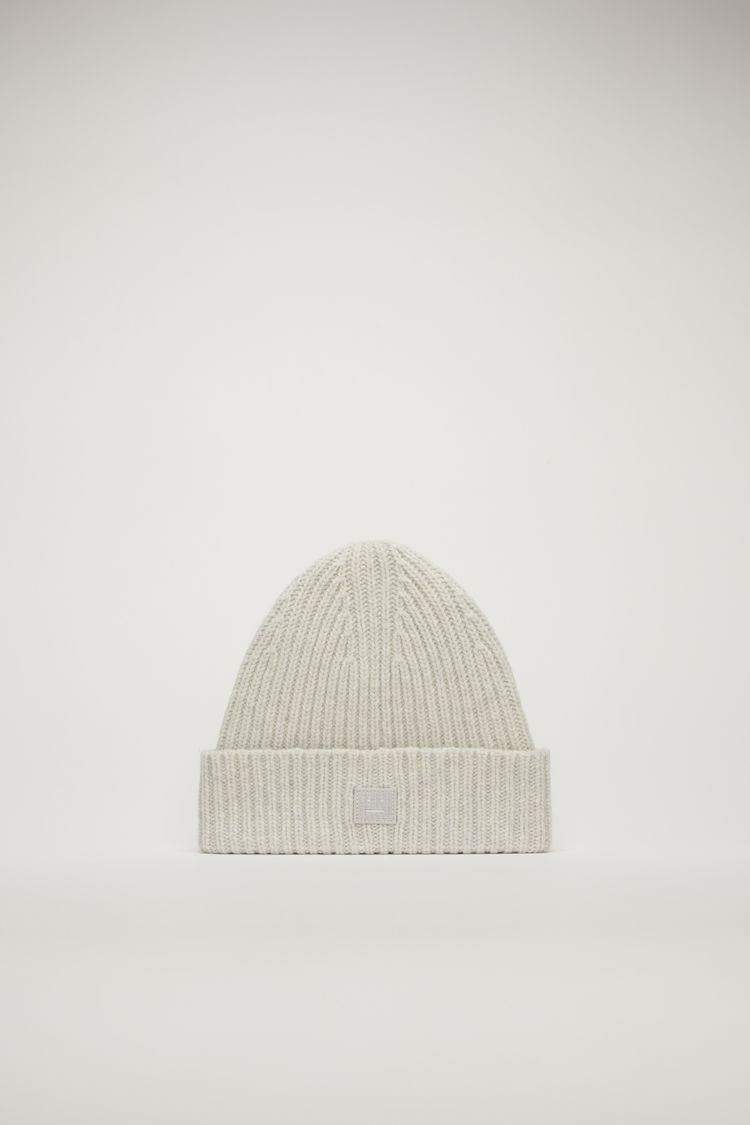 아크네 스튜디오 아동 비니 N 페이스 Acne Studios Children's beanie light grey melange