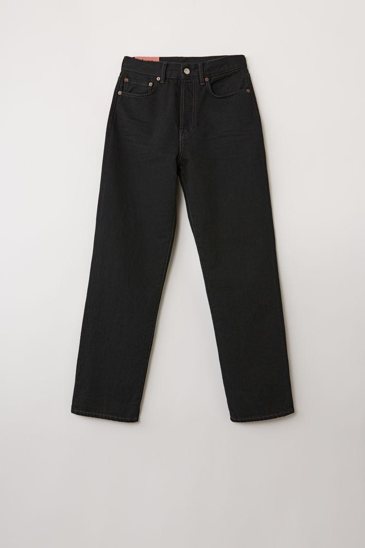 아크네 스튜디오 Acne Studios Cropped straight fit jeans black