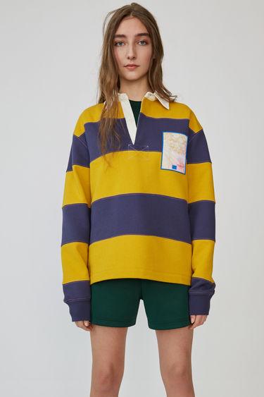 아크네 스튜디오 Acne Studios Rugby shirt denim blue
