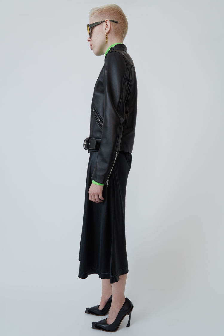 Acne Studios - Motorcycle jacket Black - 4