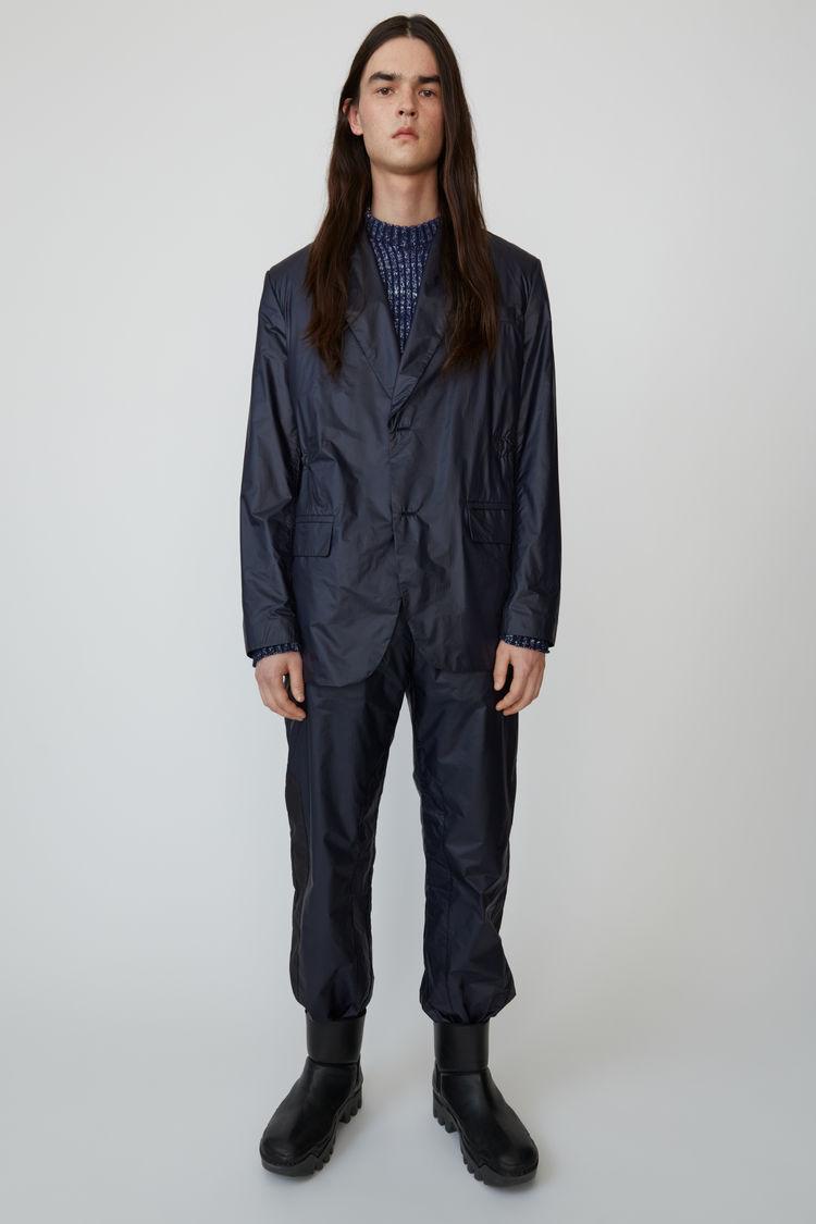 아크네 스튜디오 Acne Studios Ripstop suit jacket navy blue