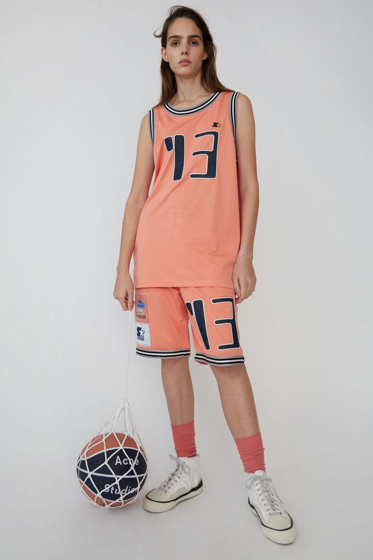 아크네 스튜디오 Acne Studios Basketball shorts pale pink