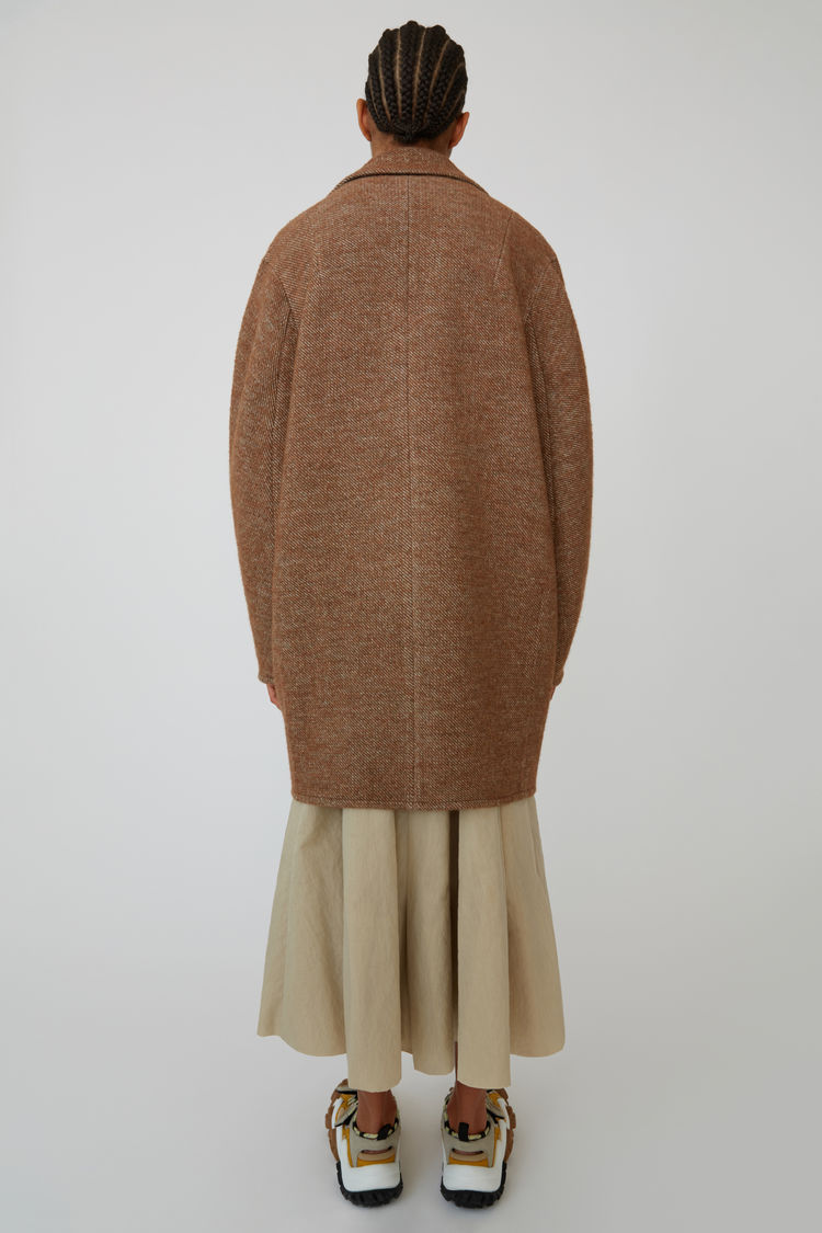 Acne Studios - Cocoon jacket Camel brown - 3