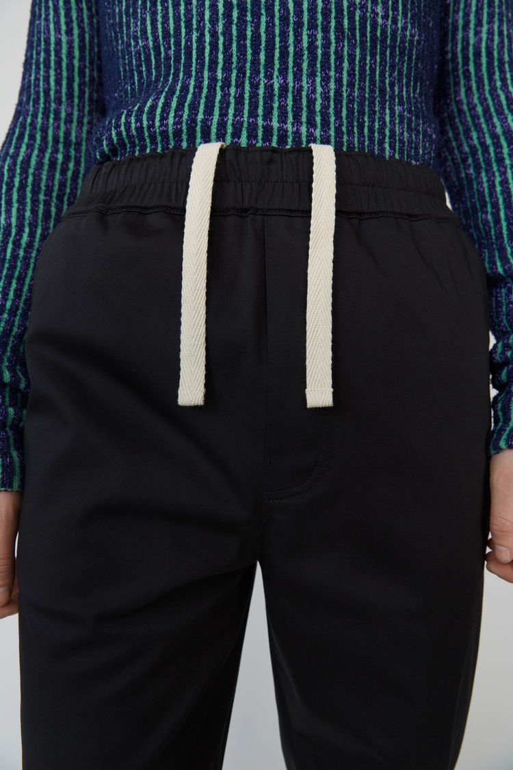 Acne Studios - Sporty trousers Black - 2