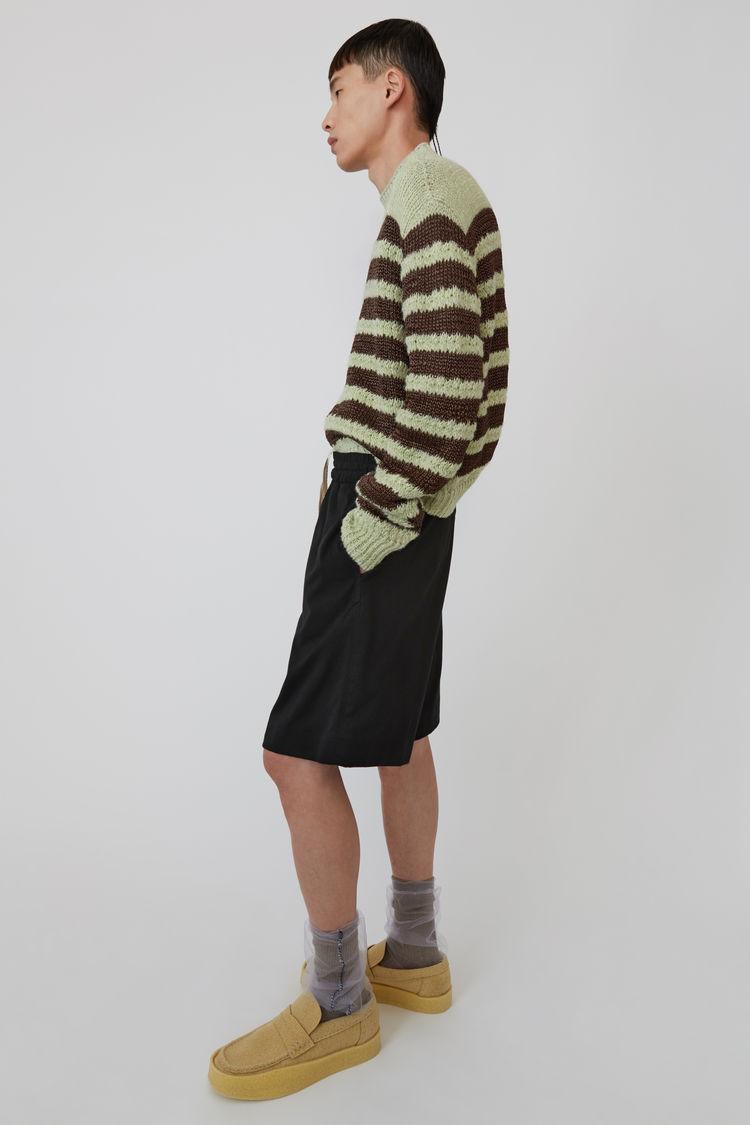 Acne Studios - Drawstring shorts Black - 4