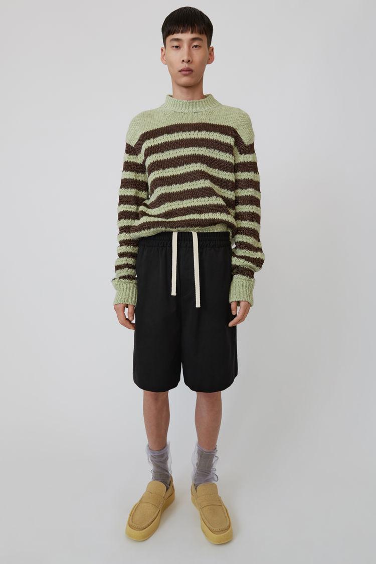 Acne Studios - Drawstring shorts Black - 1