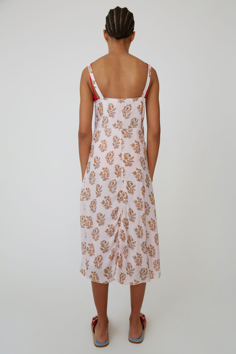 Acne Studios - Slip dress Pink/orange - 3